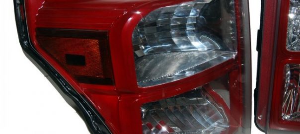 2015 Ruby Red Super Duty Healdights Painted