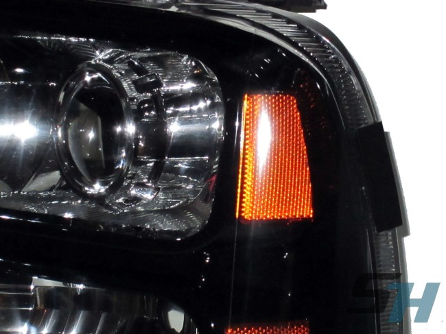 Ford Super Duty >> 2005-2007 Ford Superduty F250 F350 F450 F550 Complete Custom Paint Headlight Package ...