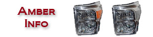 Superduty Headlights Amber Reflector Info