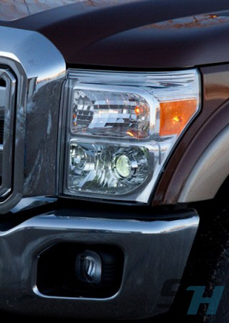 Ford Super Duty >> 2011-2016 Ford Superduty F250 F350 F450 F550 Complete HID Projector Retrofit Headlight Package ...