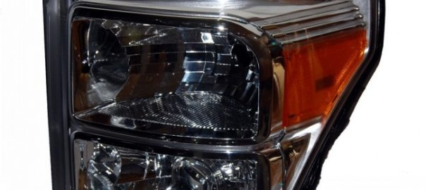 2016 Ford F250 Chrome HID Projector Headlights